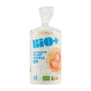 Bio+ Rijstwafels met zeezout product photo