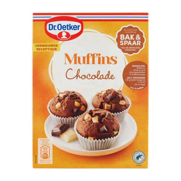 Dr. Oetker Muffins chocolade product photo