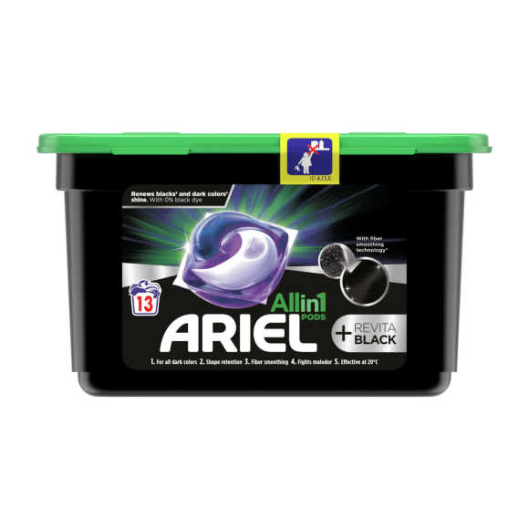 Ariel Wasmiddel all in 1 pods black product photo