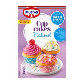 Dr. Oetker basismix cupcakes nat. product photo