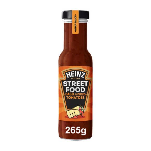Heinz Streetfood Basilicum en Gedroogde tomaten saus 235 ml product photo