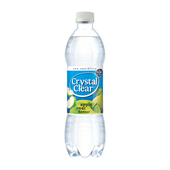 Crystal Clear Apple pear product photo