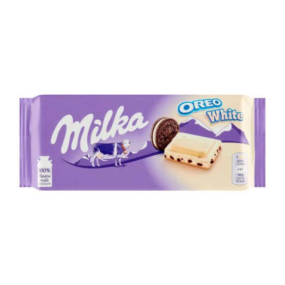 Milka Oreo wit product photo