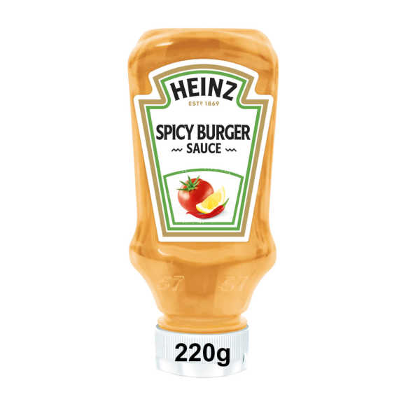 Heinz Spicy Burger Sauce (hamburger saus) 220 ml product photo