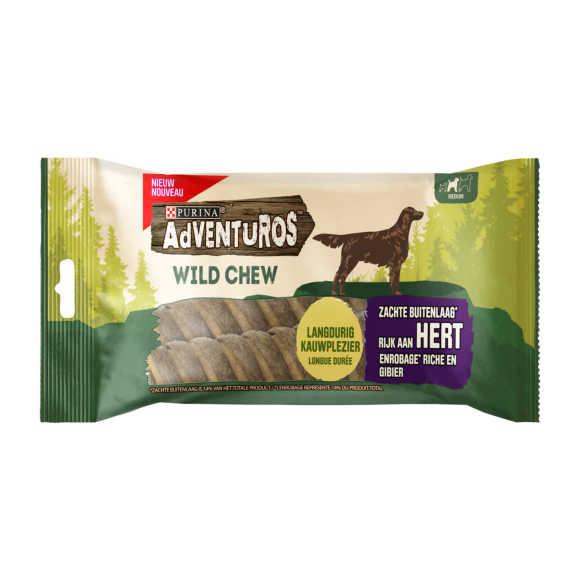 Adventuros Wild Chew Rijk aan Hert Medium 200g product photo