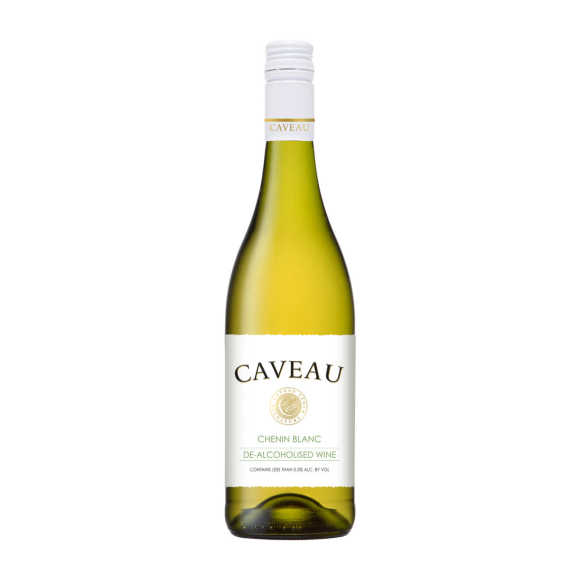 Caveau 0% chenin blanc wijn alcoholvrij product photo