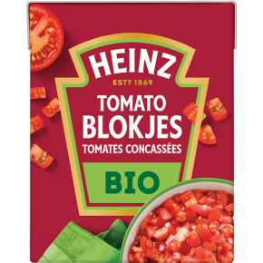 Heinz Tomato blokjes bio biologisch product photo