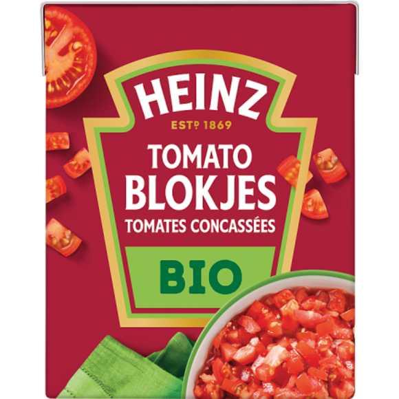 Heinz Tomato Blokjes Bio 390 g product photo