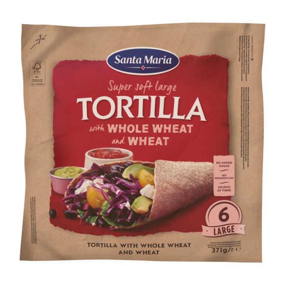 Santa Maria Tortillla wraps whole wheat product photo