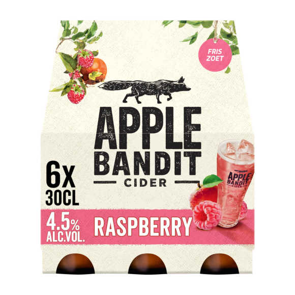 Apple Bandit Cider raspberry product photo