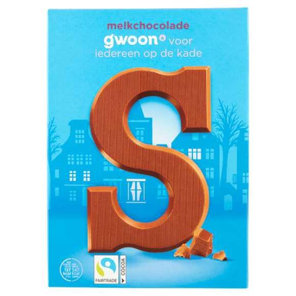g'woon Chocoladeletter melk product photo
