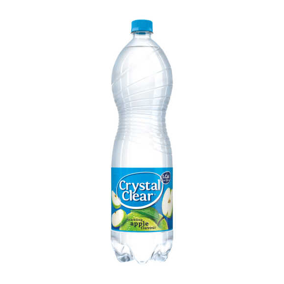 Crystal Clear Apple product photo