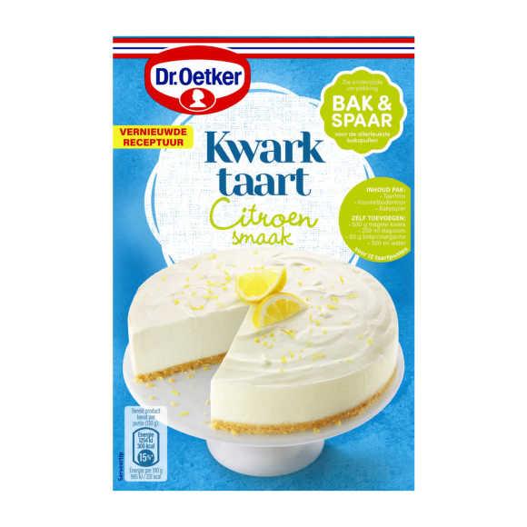 Dr. Oetker Kwarktaart citroen product photo