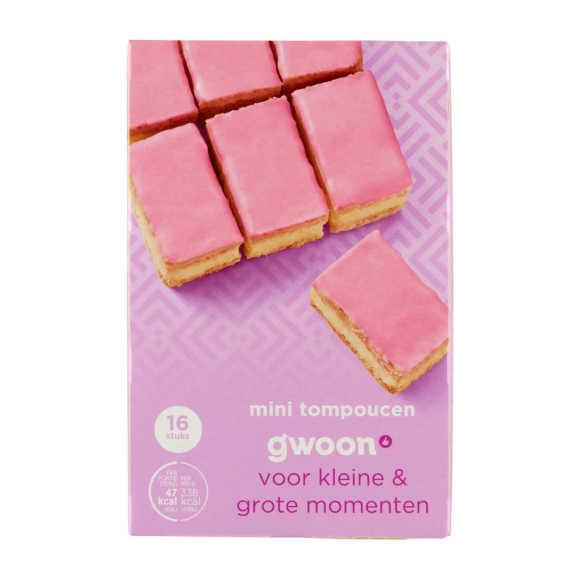 g'woon Mini roze tompoucen product photo