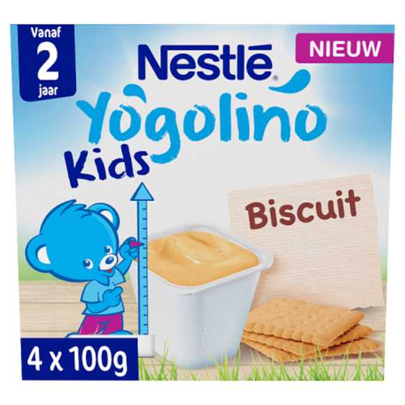 Nestlé Yogolino biscuit product photo