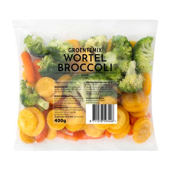 Fresh & Easy Groentemix brocolli & wortel product photo