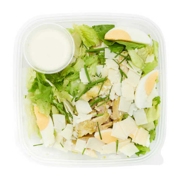 Luxe caesar salade product photo