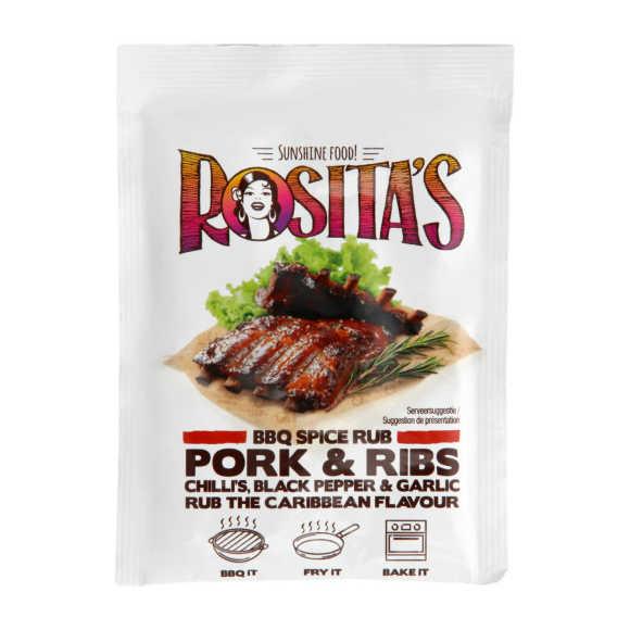 Rosita's Bbq spice rub pork product photo
