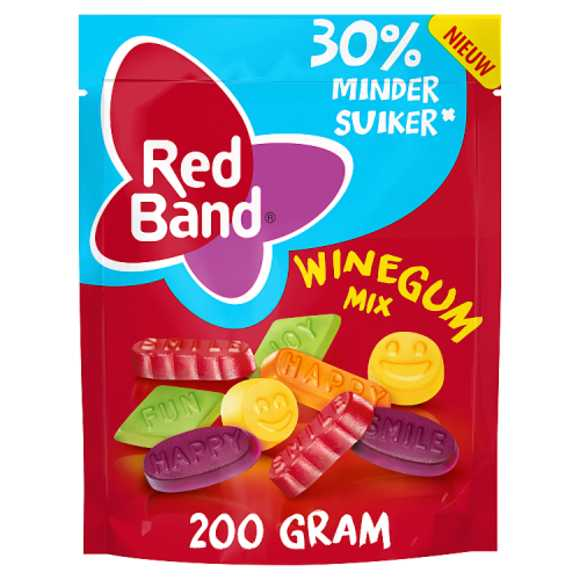 Redband Winegum mix -30% minder suiker product photo