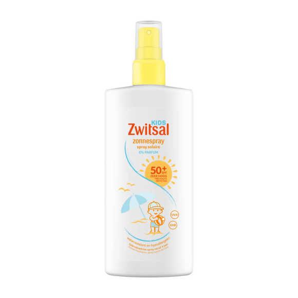 Zwitsal Kids zonnespray spf50 0% parfum product photo