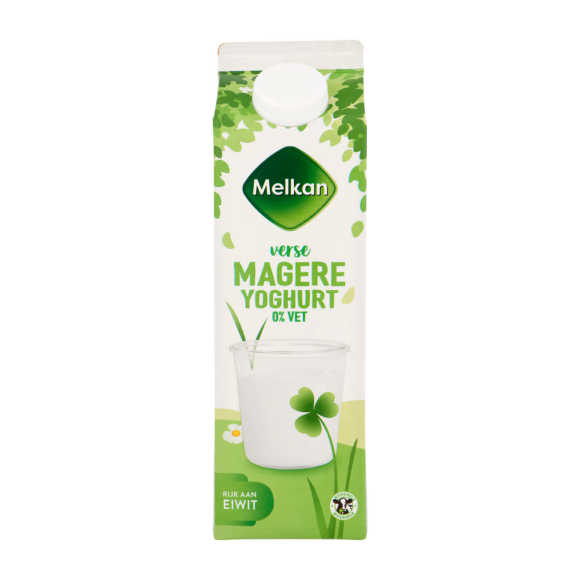 Melkan Magere yoghurt product photo