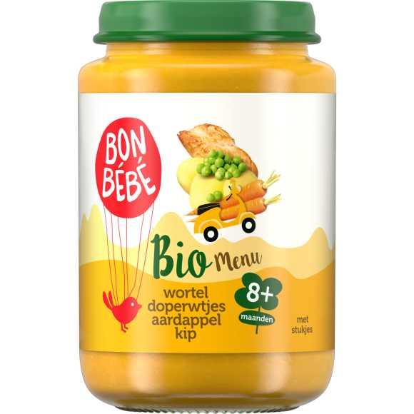 Bonbébé Doperwt wortel kip aardappel product photo