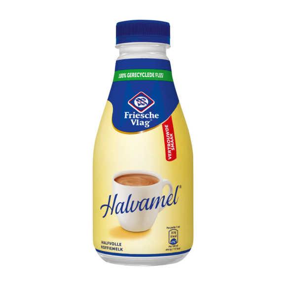 Friesche Vlag Halvamel koffiemelk product photo