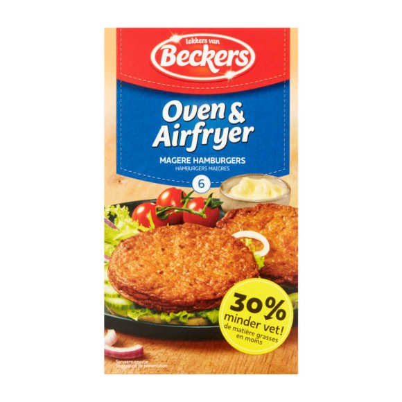 Beckers Oven hamburger mager product photo