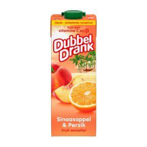 DubbelDrank Sinaasappel & perzik product photo