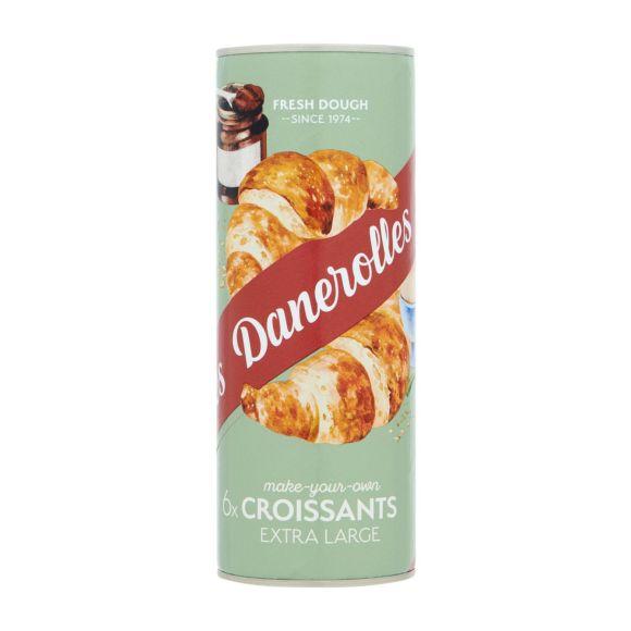 Danerolles Croissants extra large 6 stuks product photo