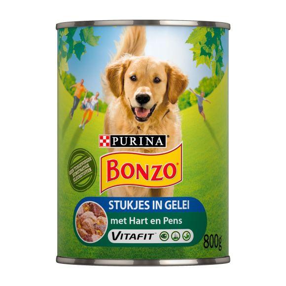 Bonzo Stukjes in gelei met hart en pens product photo