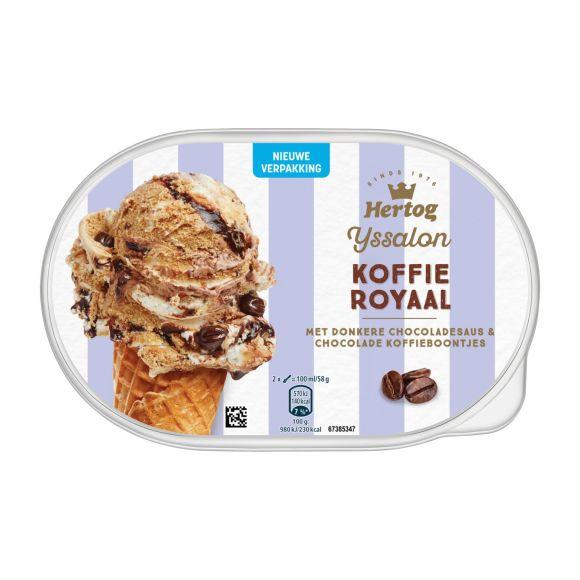 Hertog Ijs Koffie Royaal Ijssalon product photo