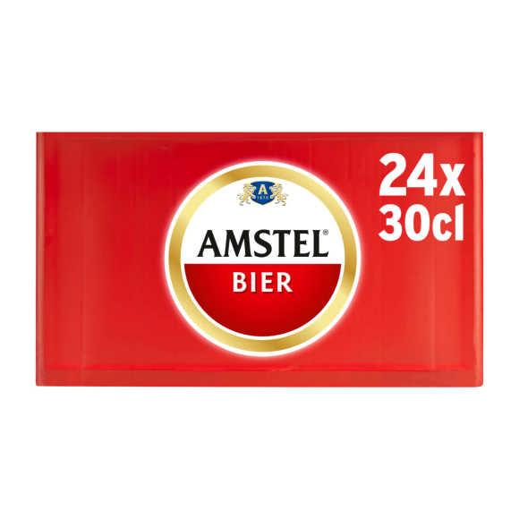 Amstel Pilsener bier fles 24x30cl krat product photo