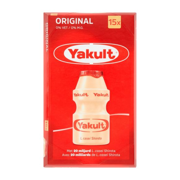 Yakult 15-pack product photo