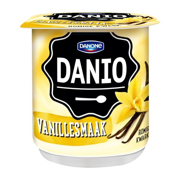 Danio Romige kwark vanille product photo