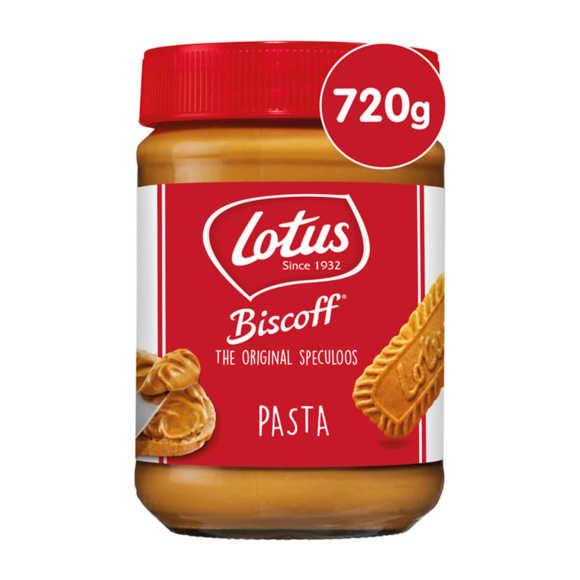 Lotus Biscoff speculoos pasta original product photo