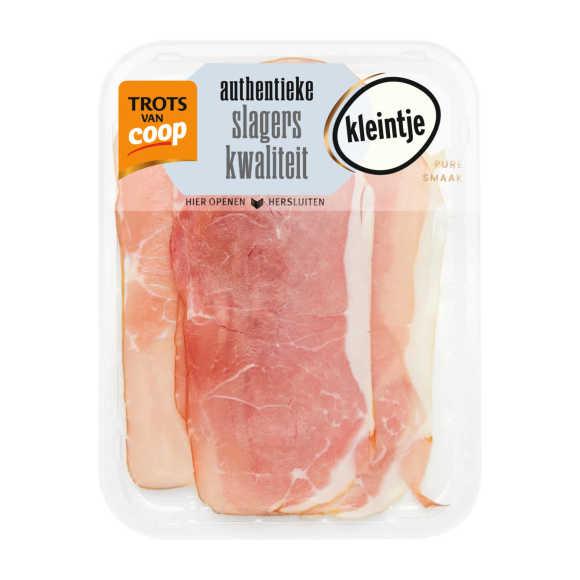 Trots van Coop kleintje Authentieke rauwe ham product photo