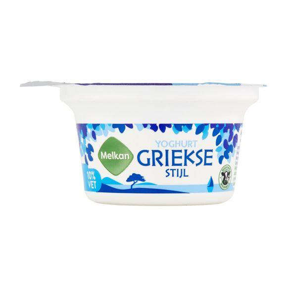 Melkan Yoghurt giekse stijl 10% vet product photo