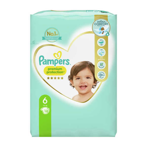 Pampers Premium protection extra large 6 product photo