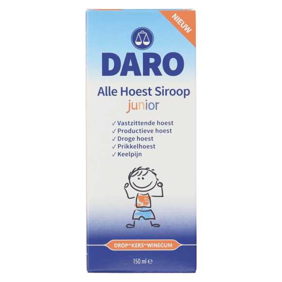 Daro Alle hoest siroop junior product photo
