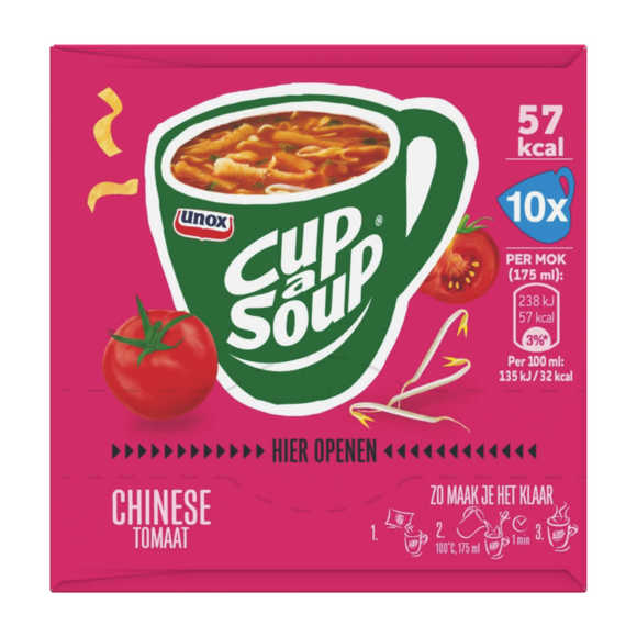 Unox Cup a soup tomaat 10 pack product photo