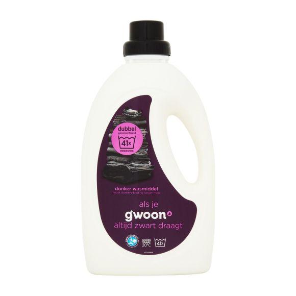 g'woon Wasmiddel zwart geconcentreerd product photo