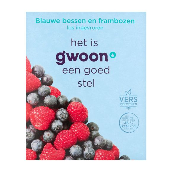 g'woon Blauwe bes/ framboos product photo
