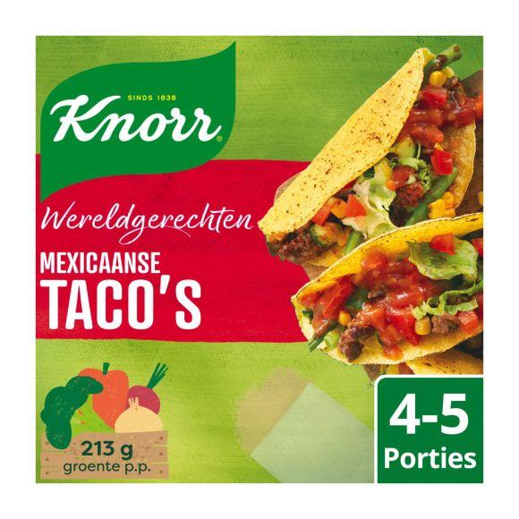 Knorr Wereldgerechten mexicaanse taco's xl product photo