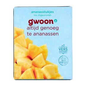 g'woon Ananasstukjes product photo