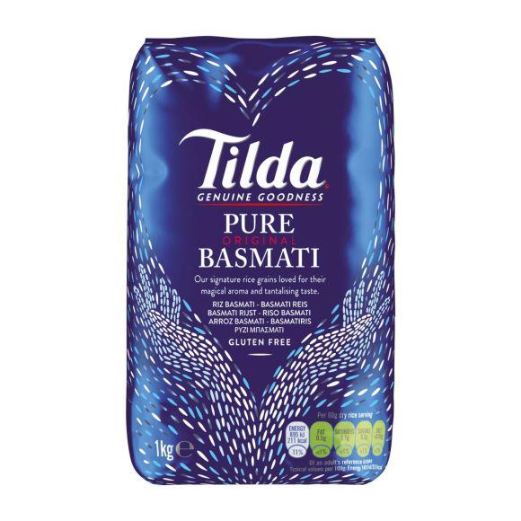 Tilda Basmati pure rice product photo