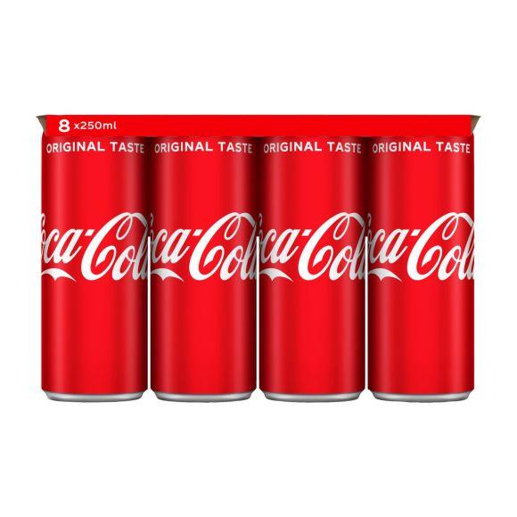 Coca-Cola Regular blik 8 x 250 ml product photo