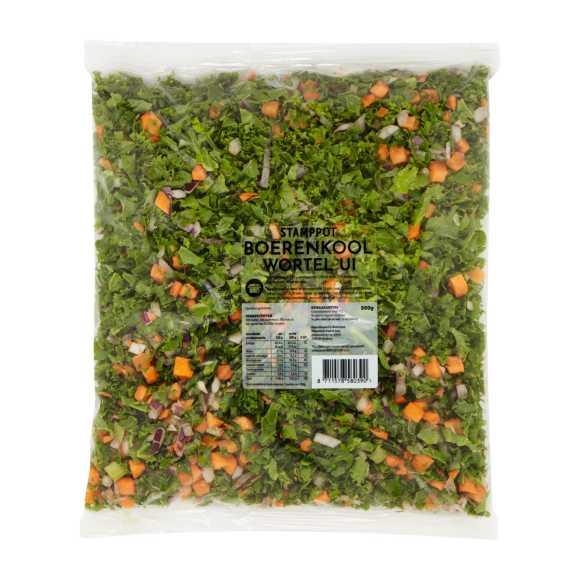 Fresh & FrozenStampot Boerenkenkool, Wortel, Ui product photo