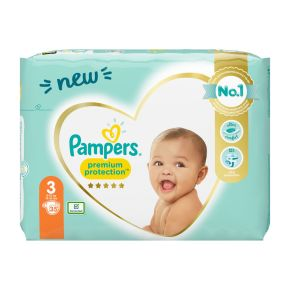 Pampers Premium Protection new baby 3 product photo