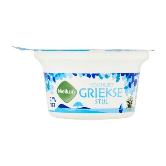 Melkan Yoghurt griekse stijl 0% vet product photo